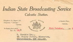 image of Listener confirmation letter from Indian State Broadcasting